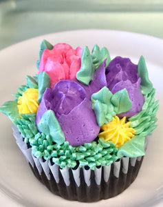 Easter/Spring Cupcakes - 6 count