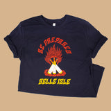 """Be Prepared"" Unisex Campfire T-Shirt"