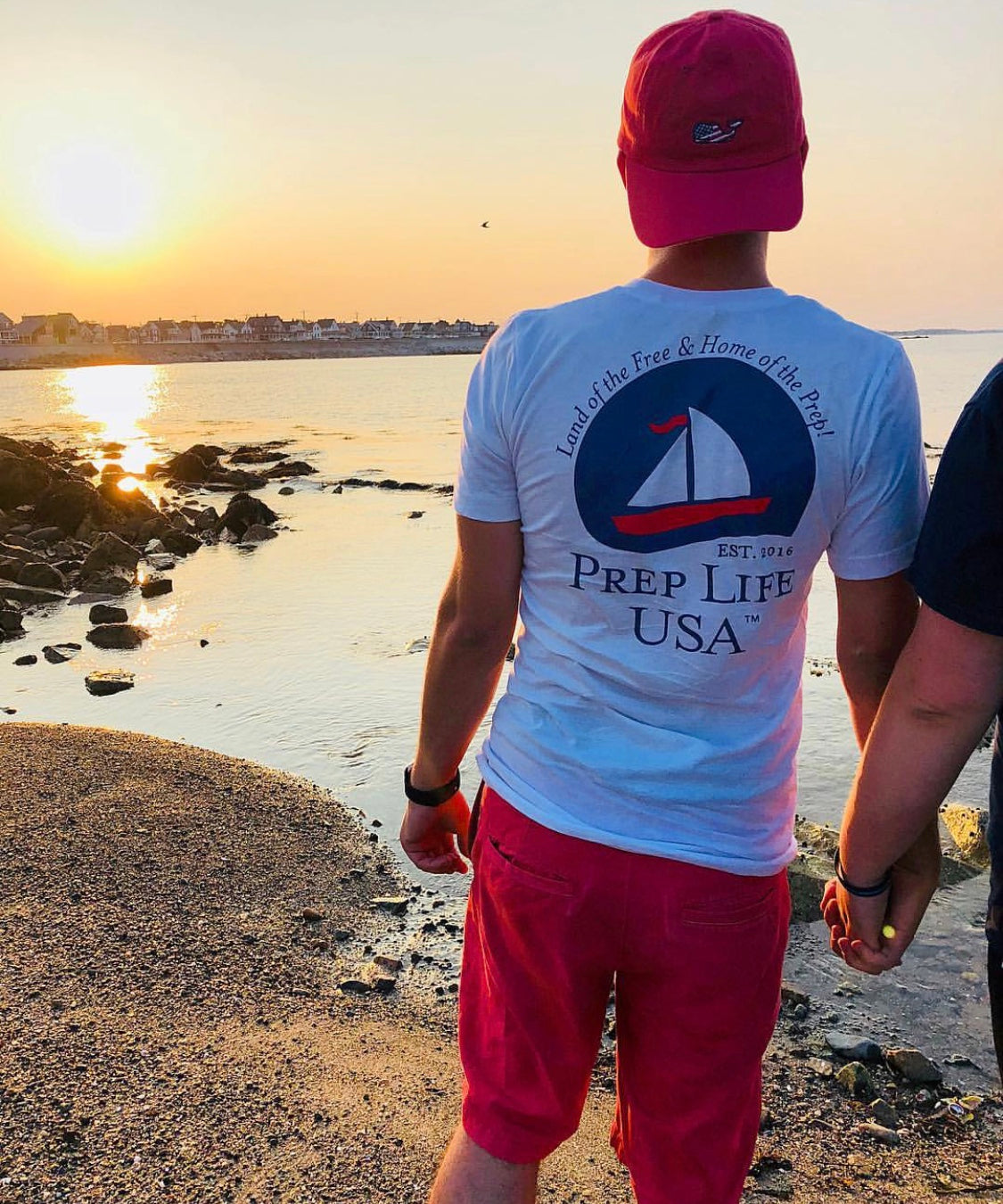 "Preppy Clothing - Support our Soldiers - Signature Collection Back Logo Unisex Shirt - Use code ""FREE"" - for free shipping today! - PrepLifeUSA"