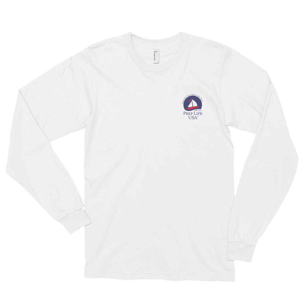 "Preppy Clothing - Support our Soldiers - Signature Collection Long Sleeve Tee - Use code ""FREE"" - for free shipping today! - PrepLifeUSA"