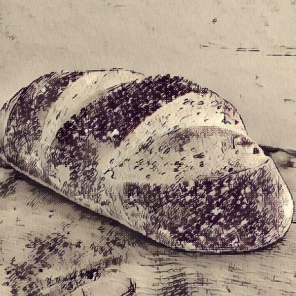 BREAD OF THE WEEK-RUSTIC WHITE (VEGAN)