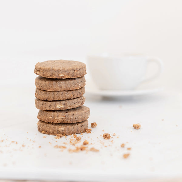COMING SOON! Schuller's Shortbread - Almond Espresso Shortbread Cookies