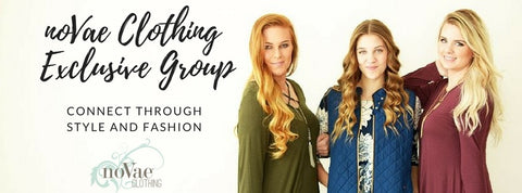 Join our FB group – noVae Clothing