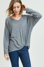 Load image into Gallery viewer, Meg V-Neck Dolman Sleeve Top