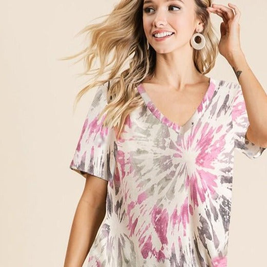 Fun in the Sun Tie dye Top