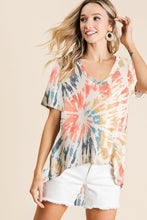 Load image into Gallery viewer, Sunset Tie dye Top