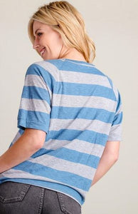 Cozy Days Striped Top - All Sales Final