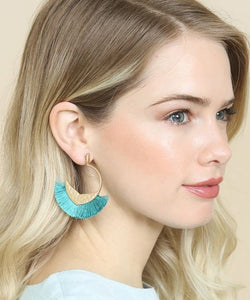 Day to Night Fringe Earrings - 4 colors