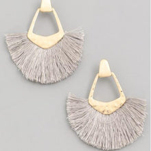 Load image into Gallery viewer, Make it Work Fringe Earrings - 4 colors