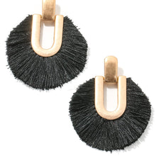 Load image into Gallery viewer, Say it with Fringe Earrings - 4 colors