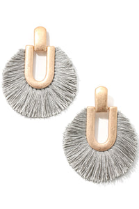Say it with Fringe Earrings - 4 colors