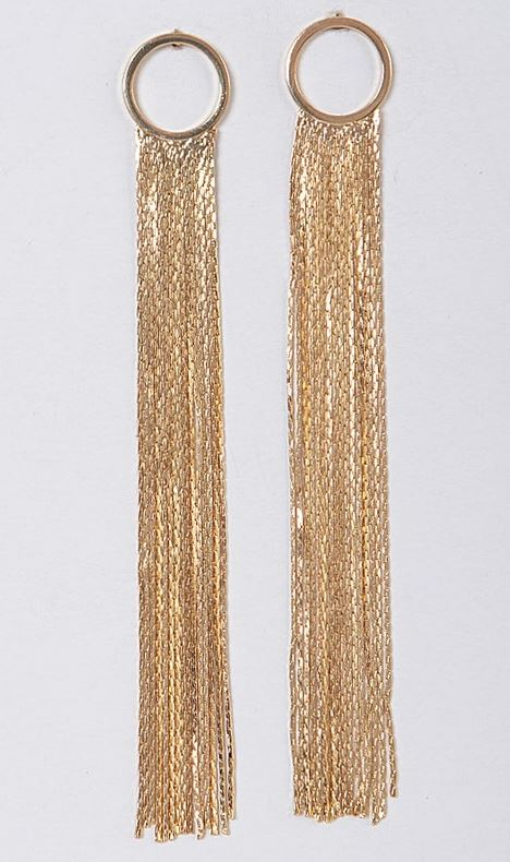 Party Time Earrings - GOLD - All Sales Final