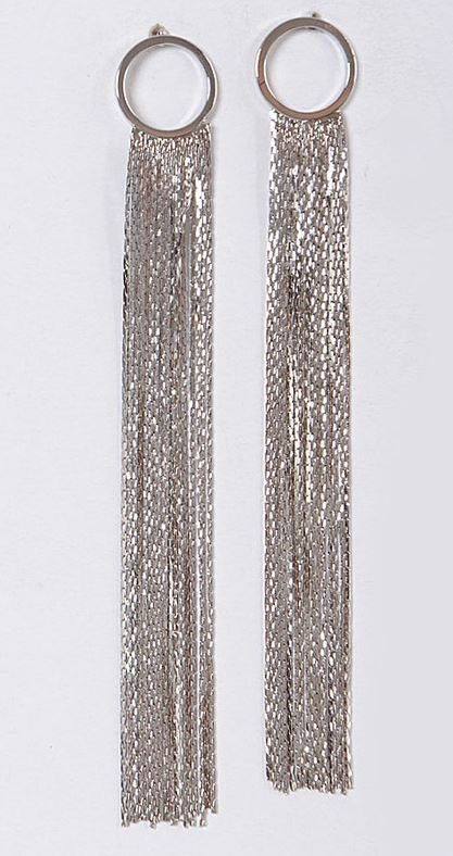 Party Time Earrings - SILVER - All Sales Final