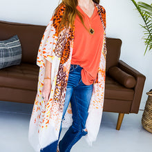 Load image into Gallery viewer, Jane Animal Print Kimono