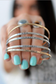 Be Empowered Skinny Bangles - Gold