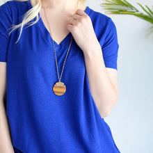 Load image into Gallery viewer, Poppy Pendant Necklace - 4 colors