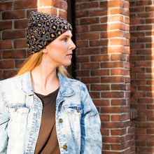 Load image into Gallery viewer, Leopard Beanie - 3 colors - all sales final