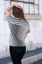 Load image into Gallery viewer, Lucky Day Striped Top - All Sales Final