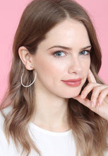 Load image into Gallery viewer, Color Dipped Hoop Earrings - 3 colors
