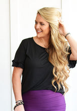 Load image into Gallery viewer, Perfect Ruffle Sleeve Top - 3 colors