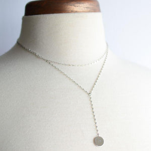 I like Mondays - Layered Necklace - 2 colors