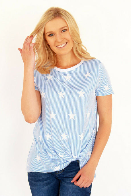 Star top with Front Twist- 2 colors