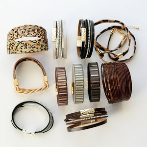 Stacked with Style - Wild Thing Cuff Collection