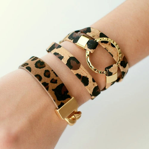 Living on the Edge  - Wild Thing Cuff Collection