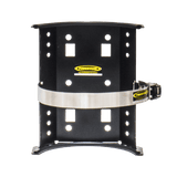 Power Tank CO2 Tank Super Bracket 10 lb. 15 lb. 6.9 in. Diameter Stainless Steel Power Tank QR Lockable / Black [+$11] Bracket