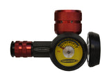 400psi co2 and n2 regulator for paintball bottles power tank - outlet gauge