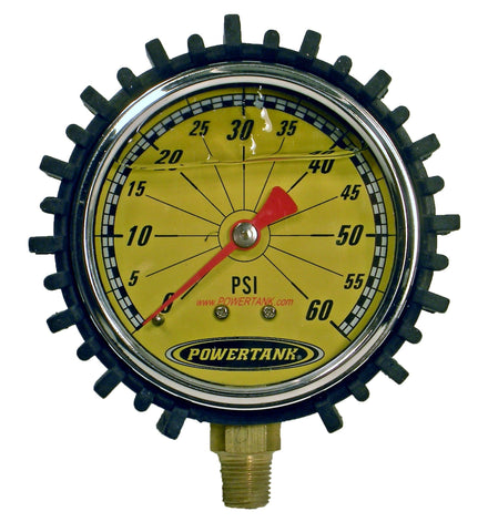 Tire Inflator Replacement Gauge - Analog and Digital Power Tank