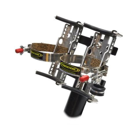 Double Barrel Power Shot Bracket with Roll Bar Clamps