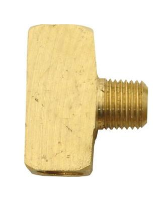 1/4 FPT x 1/4 MPT x 1/4 FPT Brass Tee - air fitting
