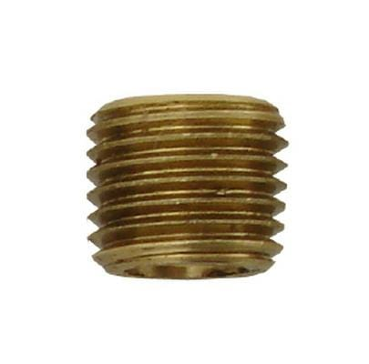 "Power Tank 1/8"" MPT Brass Plug Fitting"