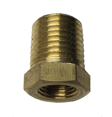 "Power Tank 1/8"" FPT x 1/4"" MPT Brass Adapter Fitting"