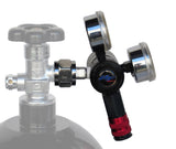 Power Tank Super Flow CO2 Regulator Kit - HP250i Comp Series Power Tank Regulator