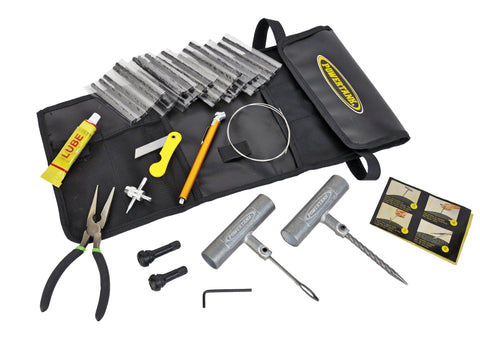 Tire Repair Kit 30 Plugs Power Tank
