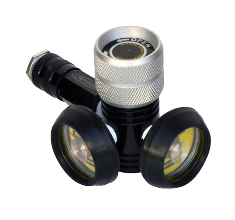 160 psi regulator for paintball bottles - top view