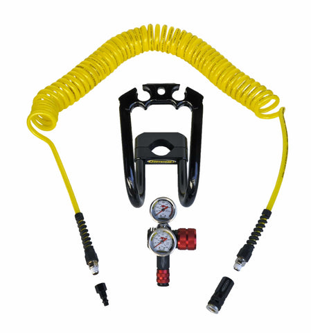 XP400 400 psi CO2 or N2 regulator kit with Power Grip Guard and hose from Power Tank