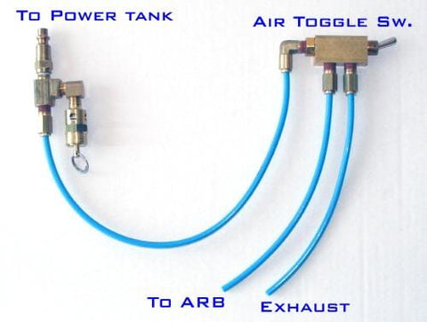 run your arb lockers completely pneumatically without electricity with air  toggle switches