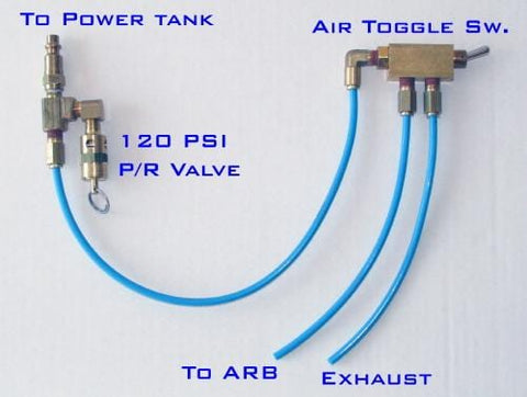 Pneumatic Air Toggle Switches For Air Lockers Power Tank