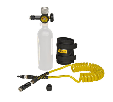 Sidearm CO2 Kit Power Tank - Bottle Inlcuded