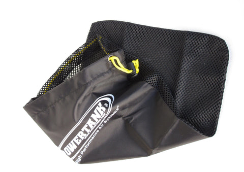Power Tank Air Hose Bag Black Nylon Mesh Power Tank Soft Good
