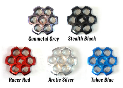 Six Shooter Aluminum Tank Knobs