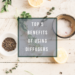 Top 5 benefits of using diffusers