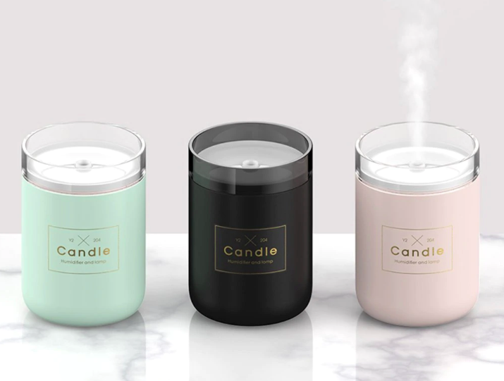 Candle Desktop Diffuser - Negative Space