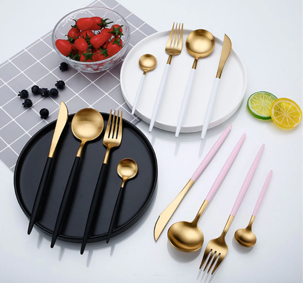 Stainless Steel Cutlery Set - Negative Space