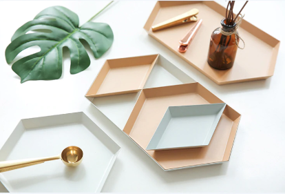 Colour Pop Geometric Shape Tray