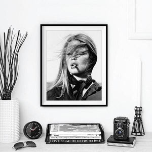 Black & White More Issues Than Vogue Poster Print - Negative Space