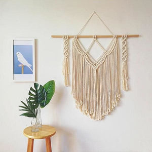 Bohemian Macrame Wall Hang - Negative Space